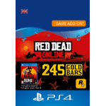 Red Dead Online: 245 Gold Bars - ps4