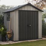 Keter Oakland Plastic Apex Shed 7X7