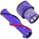 Brushroll Bar + Washable Filter for DYSON V10 SV12 Cyclone Cordless Vacuum Brush Roll Roller 237mm