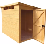 Shire Security Cabin 10x10 Pent Shiplap Wooden Shed