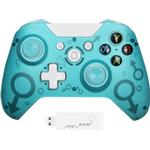 (Blue) Wireless Controller For xBox One and Microsoft Windows 10 8 Bluetooth Gamepad