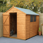 Shiplap Dip Treated 8x6 Apex Shed