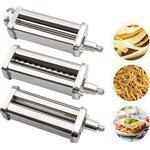 Pasta Maker Rvs Pasta Spaghetti Roller Stand Type Mixer Noodle Druk Attachment Keuken Tool Voor Kitchenaid