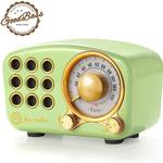 Retro Bluetooth Speaker, Vintage Radio- FM Radio with Old Fashioned Classic Style, Strong Bass Enhancement