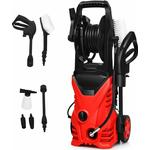 Costway - Electric Pressure Washer 2030PSI 140 Bar Water High Power Jet Wash Patio Car