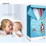 220 V Thuis Elektrische Wasdroger Binnenshuis Twee Lagen Snelle Lucht Droog Garderobe Machine droogrek geur, aroma machine KB-22
