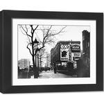 Framed Photo. Food Advertisements for Oxo, Bovril, Yorkshire