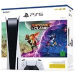 PlayStation 5 Disc Edition X Ratchet & Clank: Rift Apart -Console Bundle