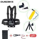 DUSZAKE DG15 Chest Mount For Gopro Hero 6 Strap For Go pro Hero 5 Tripod For GoPro Hero 6 Mount - Floating Stick