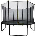 Velocity 12ft Trampoline & Enclosure Black
