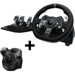 Logitech G920 Driving Force + Driving Force Shifter Bundle For PC & XB1