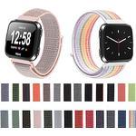 Woven Nylon Loop Watch Band Wrist Strap for Fitbit Versa / Fitbit Versa Lite Bracelet Wristband Replaceable Accessories Lightinthebox