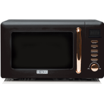 Haden 197061Salcombe 20l Microwave In Black And Copper
