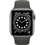 Apple Watch Series 6 44mm (GPS+Cellular) Space Grey Aluminium Case with Black Sport Band at £30 on Refresh Flex (30 Month contract) with Unlimited 5G data. £19.99 a month.