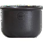 Candle Holder Tub 10 cm Cast Iron Black