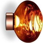 Tom Dixon Melt Surface Wall/Ceiling Light LED Copper Small