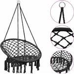Hammock Swing Chair 80 cm Anthracite - Anthracite - Vidaxl