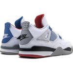 Nike Kids - Air Jordan 4 Retro sneakers - kids - Rubber/Polyester/Polyurethane - 13C, 3Y - White
