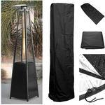 Waterproof Gas Pyramid Patio Heater Cover Garden Outdoor Furniture Protector