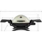 Grill Cover for Weber Q 1200 Gas Grill