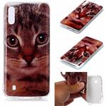 Animal Series Patterned IMD TPU Case for Samsung Galaxy M10/A10 - Cat