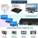 Compact DVD Player for TV Multi Region Free HD DVD Player For Home Users Boombox Multimedia Digital Theatre System Support USB