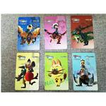6Pcs Monster Hunter Stories Amiibo NFC TAG Cards for 3DS New3DS