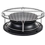 Kamado Joe Sloroller With Stainless Steel Cooking Rack Classic Joe