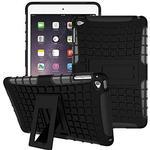 iPad Pro 9.7 Shock Resistant Back Bumper Cover - Orange