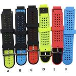 Silicone Replacement Belt Wrist Band Watch Strap for Garmin Forerunner 220 230 235 630 620 735 Approach S20 S5 S6 Smart Watches