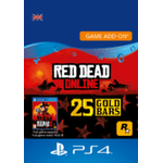 Red Dead Online: 25 Gold Bars - ps4