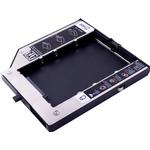 """CHIPAL 2nd HDD Caddy 9.5mm SATA 3.0 voor 2.5 """"2 t SSD HDD Behuizing voor Lenovo ThinkPad T400 t400s T500 W500 T410 T410s DVD/CD-ROM"""