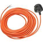 Mains Power Cable Lead Plug for BOSCH ROTAK 370 40 43 430 Ergoflex Lawnmower 12M