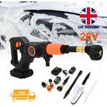 Cordless Electric Pressure Washer Water Jet Wash Patio Car Cleaner