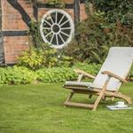 RHS Kettler chelsea eucalyptus steamer chair