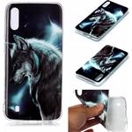 Animal Series Patterned IMD TPU Case for Samsung Galaxy M10/A10 - Wolf