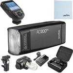 Godox AD200 Pro with XPro Trigger for Nikon