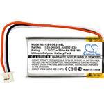 Cameron Sino 220Mah Batterij AHB521630 Voor Logitech G Pro Draadloze, G304,G502, G703 Lightspeed, mx Verticale, UE310,UE3500,UE4500