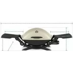 Grill Cover for Weber Q 2200 Gas Grill