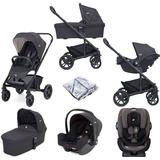 Joie Chrome Trio (i-Snug & Every Stage) Travel System with Carrycot - Ember