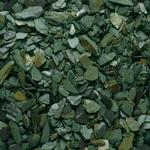 Blooma Green 20mm Slate Decorative chippings Large 22.5kg Bag