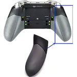 Right and Left Grips Replacement for Xbox one Elite Controller Black