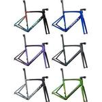 Specialized S-works Tarmac Sl7 Disc Frameset 2021 56 - Blue Tint over Spectraflair/Brushed Chrome