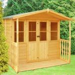 Shire Houghton Garden Summerhouse 7' x 7'