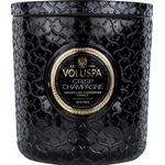 Maison Luxe Jar Scented Candle, Crisp Champagne