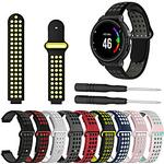 Smart Watch Band for Garmin 1 pcs Sport Band DIY Tools Silicone Replacement Wrist Strap for Approach S6 Approach S5 Approach S20 Forerunner 735 Forerunner 630 Lightinthebox