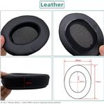 KQTFT 1 Pair of Replacement Ear Pads for Philips SHP9500 SHP-9500 Headset EarPads Earmuff Cover Cushion Cups