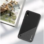 PINWUYO Honor Series PU Leather Coated TPU Cover for Samsung Galaxy A10 - Black