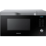 Samsung Easy View 28L Silver Convection Microwave Oven With HotBlast Technology