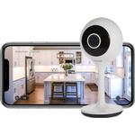 Time2 Sophia2 1080p Fixed Indoor WiFi Home Security Camera